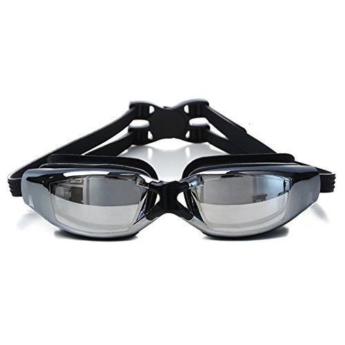 Lunettes de natation, lunettes de natation avec anti-buée étanche professionnel myopie Lunettes de natation pour adulte pour homme femme Youth pour enfants