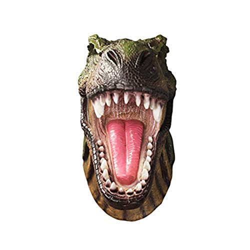 Wall Charmers Faux Realistic T-Rex Dinosaur Head Wall Hanging - 13