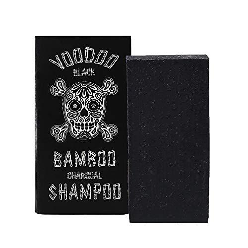(Voodoo Bamboo Charcoal Shampoo Bar From Australia with Organic Leatherwood Honey 100% Natural)