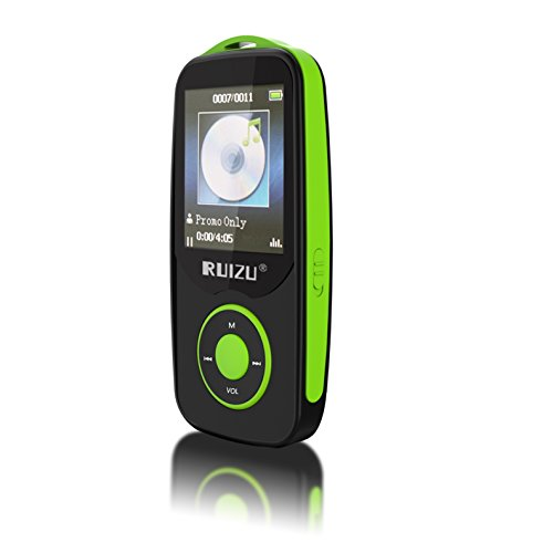 Mp3 Music Player with Bluetooth, 2017 RUIZU Portable Lossless MP3 Movies Player with FM Radio for Kids](Bluetooth For Mp3 Player)