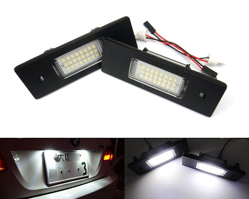 number plate light Do with E-mark licence plate light. number plate lamp xenon-look LED 1103V2/LED license plate light