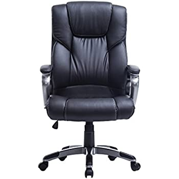 Captivating Homgrace High Back Executive Chair (Black)