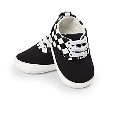 CoKate Baby Boys Canvas Toddler Sneaker Anti-Slip First Walkers Shoes