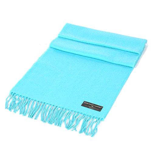 SERENITA Unisex Super Soft Cashmere Feel Solid Color Scarf ()