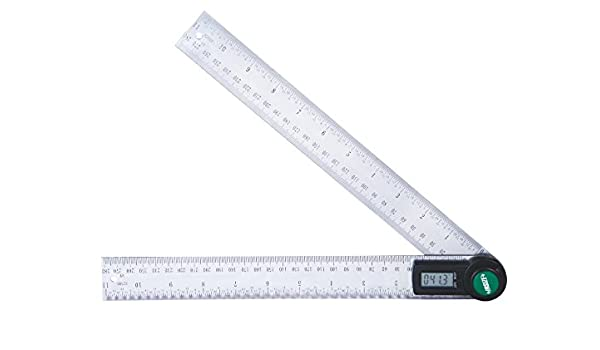 2176-200 Insize Electronic Digital Protractor 8/""