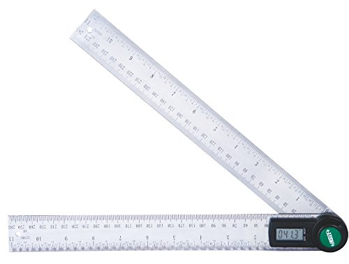 INSIZE 2176-200 Electronic Protractor, 8''
