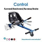 PRINIC Hoverboard Seat Attachment Go Kart