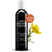 John Masters Organics - Evening Primrose Shampoo for Dry, Thinning, Color Treated Hair - Moisturizer Infused with Essential Oils, Proteins, Amino Acids for Soft Hair - Sulfate Free - 8 oz
