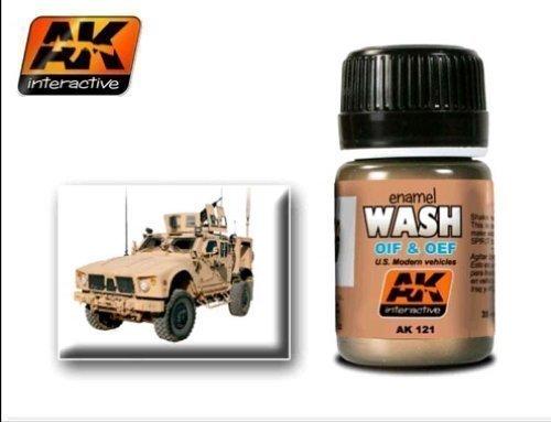 AK Interactive - OIF & OEF - US Vehicle Wash - AK00121 by AK Interactive