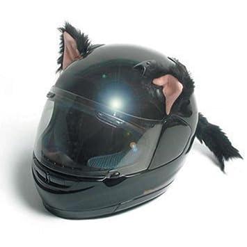 Casque moto oreille de chat