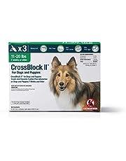 WIM Crossblock II pulga preventivo para Perros 11-20 Lbs. (3 Paquetes)