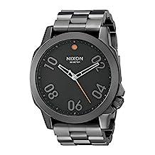 Nixon Men's Ranger 45 Gunmetal/Black Watch