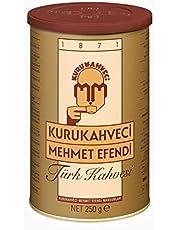 Kurukahveci Mehmet Efendi Türk Kahvesi Teneke Kutu 250 gr