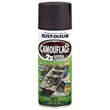 Rust-Oleum 279178 Specialty Camouflage Ultra Cover 2X Spray Paint, 12-Ounce, Earth Brown