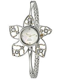 Titan Women's 9974BM01 Raga Pearls Analog Display Quartz Silver Watch