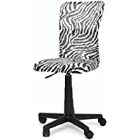 Urban Shop WK656394 Mesh High Back Desk Chair, Zebra