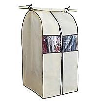 衣類収納カバー 不織布カバー 収納棚 不織布 防塵 防虫 防湿 防カビ...