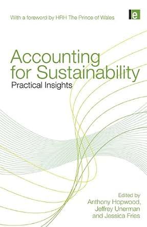 accounting for sustainability unerman jeffrey hopwood anthony