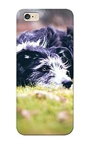 Hot Design Premium Ogfpqu-3867-shnduek Tpu Case Cover Iphone 6 Plus Protection Case (tired Dog )
