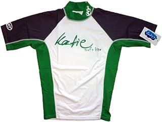 Katie surf´n kite Protezione-UV maglietta da Uomo KT Spandex Maniche corte UPF 50+ protezione solare