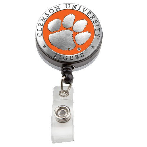 Heritage Pewter Clemson Tigers #2 Badge Reel