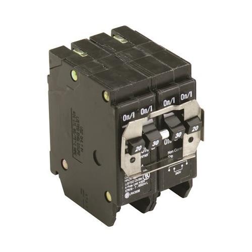 Eaton BQC230230 Quad Breaker 2-2P 30A Ct, 1'' x 1'' x 1''