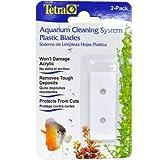 Tetra 29146 Aquarium Clean System Scraper Plastic Blade, 2-Pack