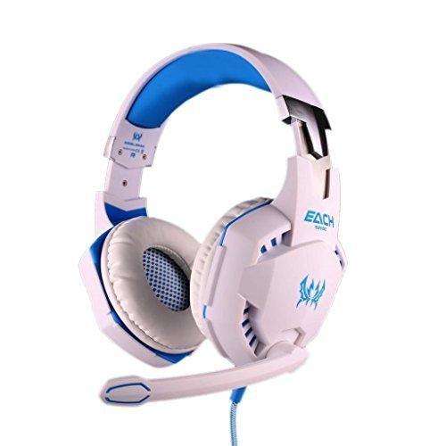 Gaming-CasqueVersionTech-EACH-G2100-Confortable-35mm-USB-LED-Stro-Oreillettes-couteur-avec-faible-bruit-pour-Ordinateur-Portables