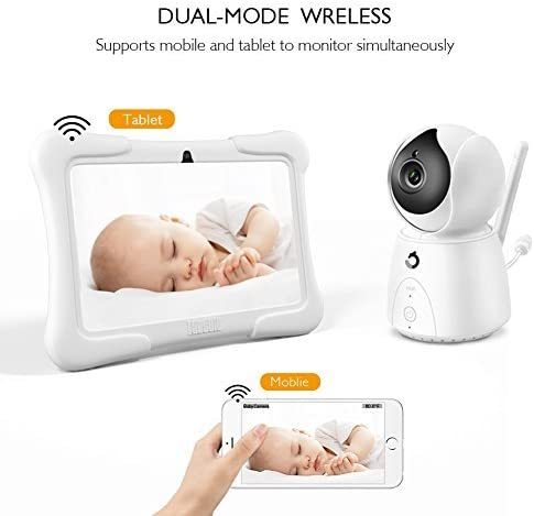 DragonTouch Future 1 Video Baby Monitor