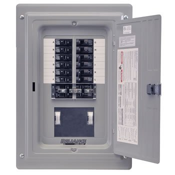 Reliance Prewired Generator Transfer Panel - 12 Circuits, 60 Amps, 125/250 Volts, 15,000 Watts, Model# TRC1006CP9