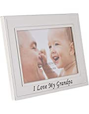 Lawrence Frames Sentiments Collection, Brushed Metal 4 by 6 Picture Frame