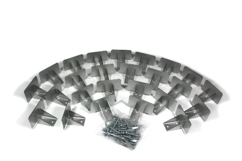 SnowCatchers Stainless Steel 25 pcs Snow Guards w/ Screws for Metal Steel (Roofing Snow Guards)