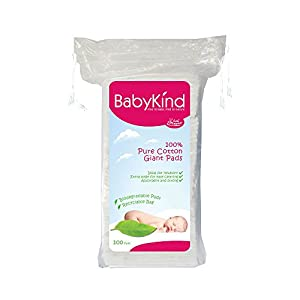 Baby Kind 4187 Coussinets en Coton - Lot de 6 x 100 units (600 units) 4