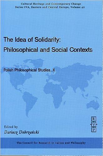 Solidarity (Philosophical Studies in Contemporary Culture)