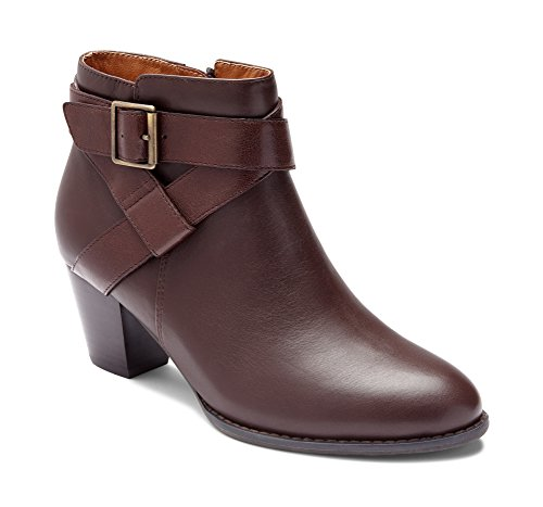 Trinity Women's Chocolate Vionic Orthaheel Boot with HqznTwORx