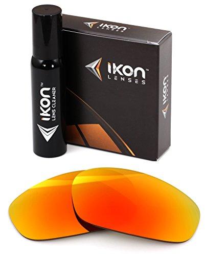 Polarized IKON Replacement Lenses For Costa Del Mar Hammerhead Sunglasses - Fire - Costa Customer Mar Service Del