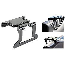 Portworld TV Mount Bracket Stand Clip Holder For Microsoft Xbox 360 Slim Kinect Sensor by Mr. Gadget Solutions