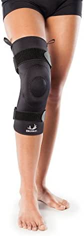 Compression Knee Brace with Gel for Arthritis, Patella Tendinitis, Osteoarthritis - Light Joint Support and Patella Gel Ring - by BioSkin