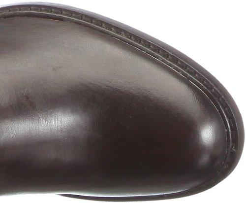 Buffalo London 1002 W 04 COW MONTONE 121930 - Botas de cuero para mujer Marrón