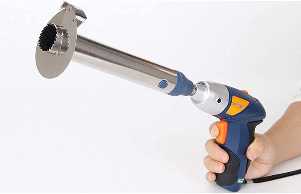 Steel, 10cm Pineapple Core Slicer Electric Drill Accessories Easy-Quick Tool