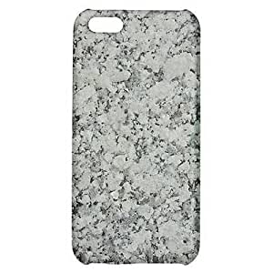 Grey Spotted Granite Marble Texture CUSTOM Snap On Cover Case Skin for iPhone 5C