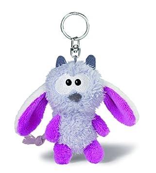 NICI - Llavero de peluche monstruo, color lila (34990): Amazon.es: Juguetes y juegos