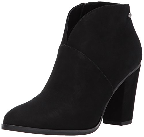 206 Collective Women's Everett High Heel Ankle Bootie, Black, 8 B US Botin Ladies Boots