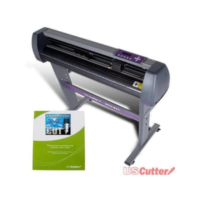 USCutter 28 in Vinyl Cutter Plotter with Stand and VinylMaster - New Design and Cut Software