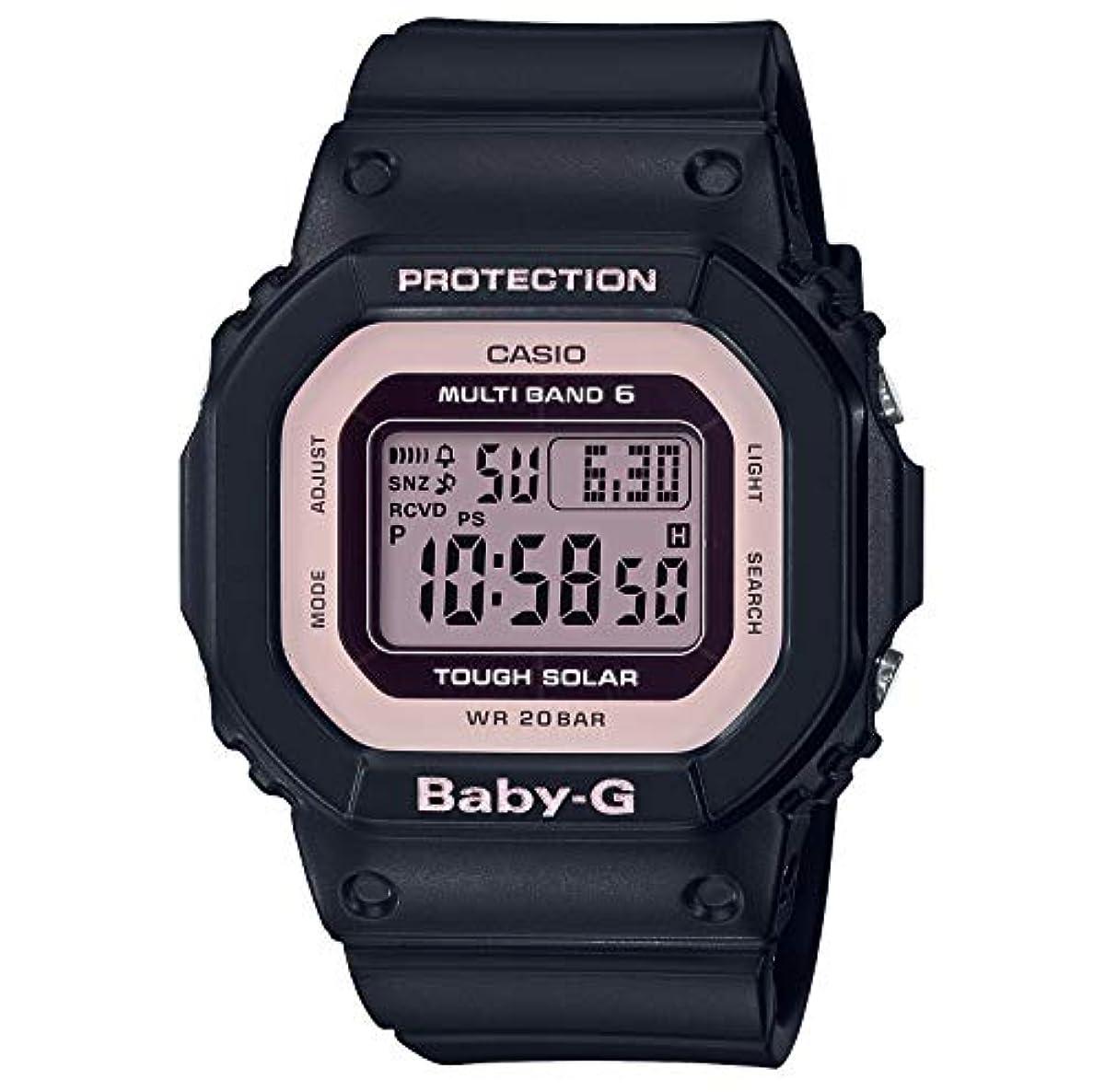 [해외] [카시오] 손목시계 BABY-G BGD-5000-1BJF 레이디스 블랙