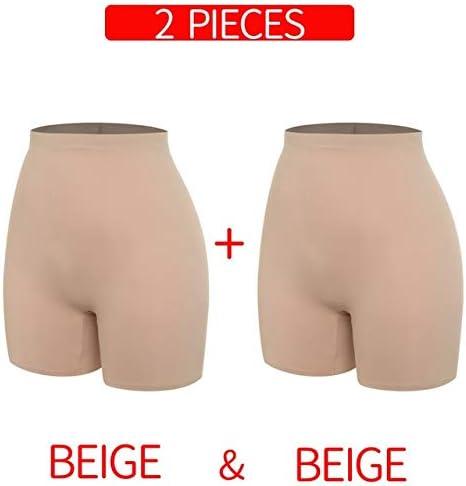 HEZHYDNY Pantalones de Seguridad Anti Chafing Femme Shorts ...