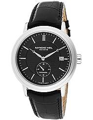 Raymond Weil Mens 2838-STC-20001 Analog Display Swiss Automatic Black Watch