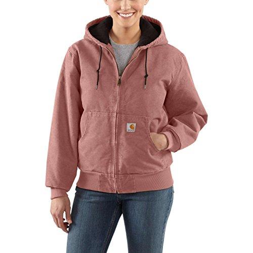 Carhartt Women's Sandstone Active Jacket, Burl Wood, (Womens Barn Jacket)