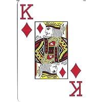 "Marion Pro ""Clover"" 100% Plastic Cards - Jumbo Index - Bridge Size"
