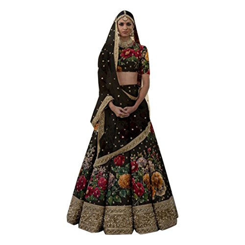 Wedding Bollywood Lehenga Dupatta Designer Ghagra chaniya Choli Bridal Custom to Measure Muslim Eid 2791